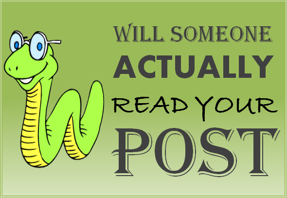 Reasons people read your blog posts